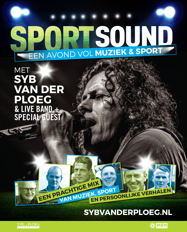 Poster SportSound 2018 Syb van der Ploeg
